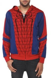 Marvel Universe Spider Man Full Zip Hoodie Size  X Large