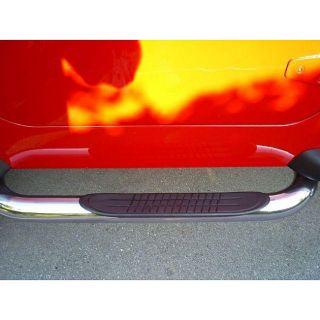 Jeep Wrangler 2 door 2007 09 Stainless Steel Nerf Bars