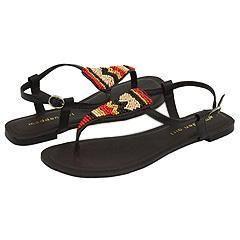 Madden Girl Bajjaa Brown Multi Sandals