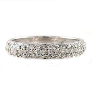 Beverly Hills Charm Silver 1/2ct TDW Diamond Band Ring