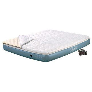 Coleman Queen Memory Foam Quickbed with 4D Pump: Sports