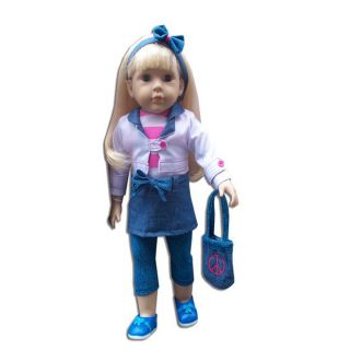 New York Doll Collection 18 inch Maggie Doll