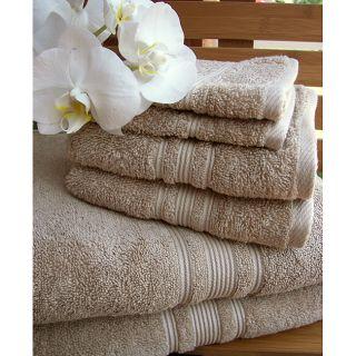 de baño, algodón Hygro de primera calidad, 18 piezas, Linen Beige