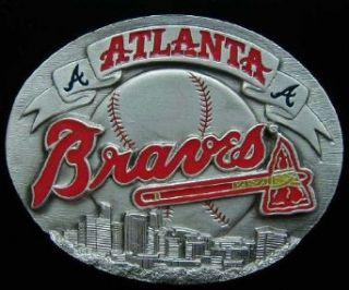 Atlanta Braves Belt Buckle Clothing