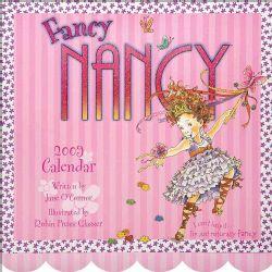 Fancy Nancy 2009 Calendar