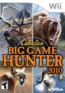 Wii   Cabelas Big Game Hunter 2010
