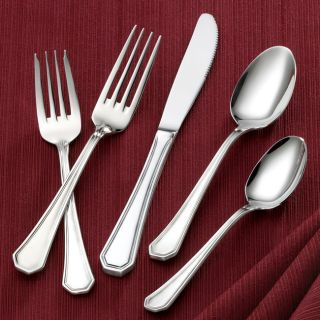 Utica 20 piece Prim Flatware Set