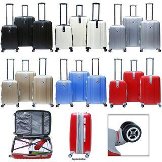 CalPak Sparta 3 piece Expandable Hardside Spinner Luggage Set