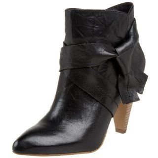 Jessica Simpson Womens Meri Bootie,Black,5 M Shoes