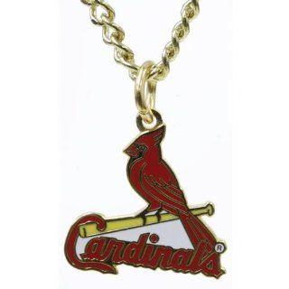 St Louis Cardinals   Logo Necklace