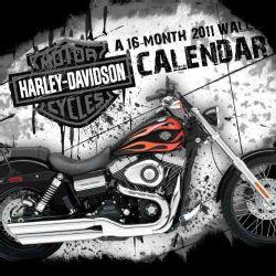 Harley Davidson 2011 Wall Calendar