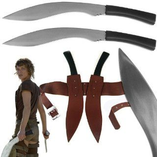 Resident Evil Double Kukri Sword Set with Sheath Sports