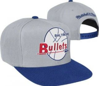 Mitchell & Ness NBA Grey 2 tone Xl Snapback   Baltimore