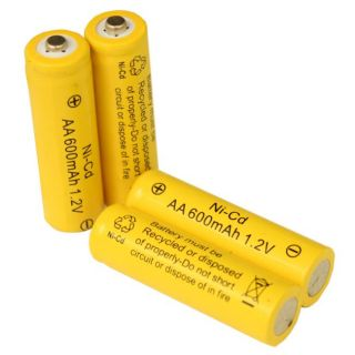 Light AA Ni CD Rechargable Batteries (Pack of 10)