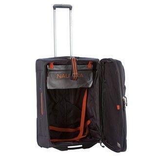 Nautica Helmsman Orange/Grey 4 piece Luggage Set