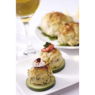 Jumbo Lump Maryland Crab Cake Appetizers (Case of 24)