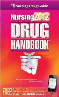 Nursing 2012 Drug Handbook With Online Toolkit (Mixed media product