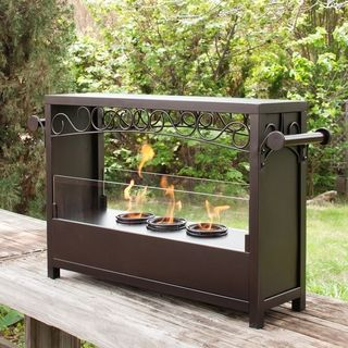 Bryden Portable Indoor/ Outdoor Fireplace