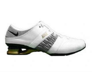 White/Black Metallic Gold Womens Shoes 318133 101 9.5 Shoes