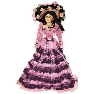 Jacqueline 28 inch Porcelain Collectible Doll