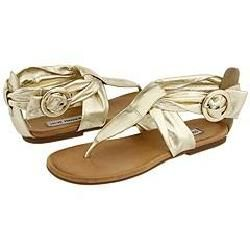 Steve Madden Venecin Gold Paris Sandals