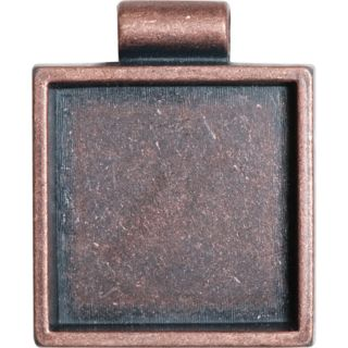 Lisa Pavelka Antique Copper Square Bezel