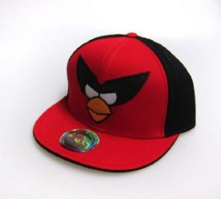 Angry Birds Mens In Space Red Bird Hat, Red, One Size