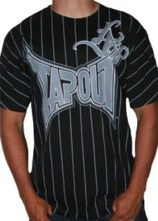 Mens Tapout Short Sleeve Mma Black T shirt L to the A