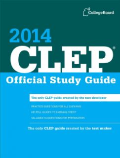 Clep Official Study Guide 2014 (Paperback) Today $15.29