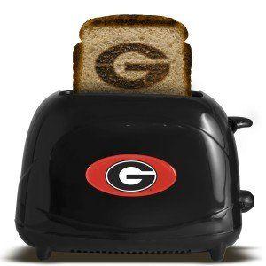 Georgia Bulldogs Toaster   Black: Sports & Outdoors