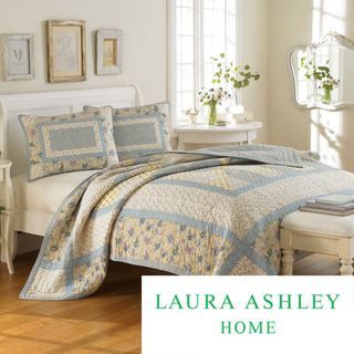 Laura Ashley Hadleigh 3 piece Quilt Set