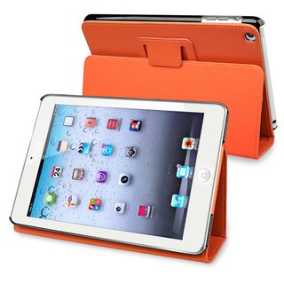 BasAcc Orange Leather Case with Stand for Apple® iPad Mini
