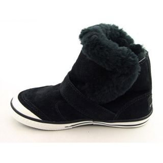 Youth Kids Girlss Venice Black Boots (Size 13)