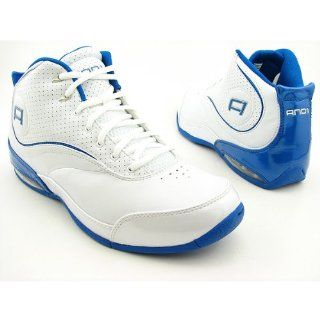 AND1 Pearl Mid White Basketball, Royal Shoes Mens 10 Shoes