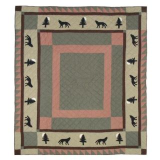 Patch Magic Wolf Trail Queen size Quilt