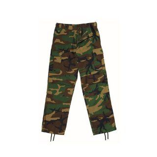 Rothco Ultra Force BDU Pants   Woodland Camouflage   Long