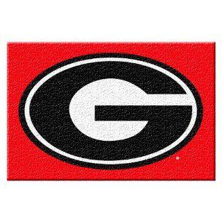 Georgia Bulldogs NCAA Tufted Rug (59x39) Sports