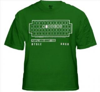 NAGGERS (South Park Spoof) T Shirt (Kelly Green) #28/#1276