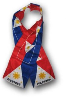 Philippines   Flag Scarf: Clothing