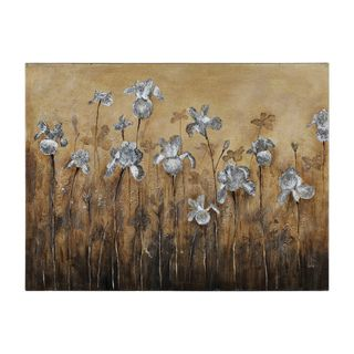 Catherine Brink Fiore Bianco Hand painted Canvas Art
