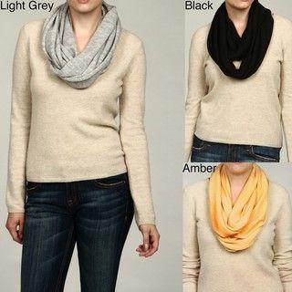 Portolano 16 x 60 Merino Wool Infinity Scarf