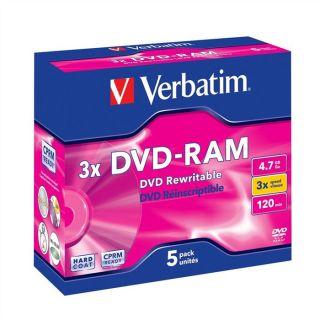 Verbatim DVD RAM 3x 4.7 Go (5)   Achat / Vente CD   DVD   BLU RAY