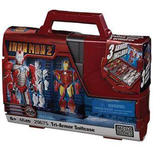 Valise du film événement Iron man 2   Contient 47 pièces   Jeu de