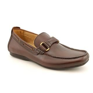 Steve Madden Mens Kasshh Leather Casual Shoes