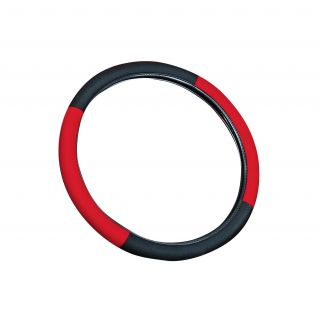 Red 15 inch Universal Steering Wheel Cover