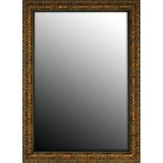 36x46 Olde World Copper Mirror