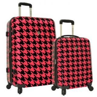 Travelers Choice Luggage 2 Piece Hardside Expandable Set