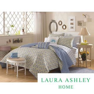 Laura Ashley Carlie Blue King size Quilt