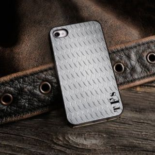 Diamond Plate iPhone Case with Black Trim Clothing