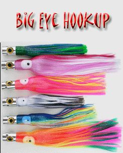 Big Eye Hookup 9 Inch Trolling Lure Package Sports